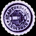 Siegelmarke Stadtgemeinde - Endingen W0229402.jpg