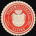 Siegelmarke Stadtmagistrat - Laufen W0232699.jpg