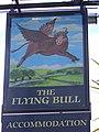 Sign for the Flying Bull - geograph.org.uk - 1328664.jpg