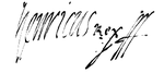Signature of Henry III Valois as King of Poland.PNG