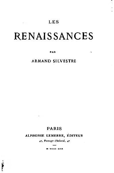 File:Silvestre - Les Renaissances, 1870.djvu