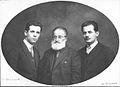Simeon Evtimov, Nikola Maleshevski and Ivan Trifonov IMARO.jpg