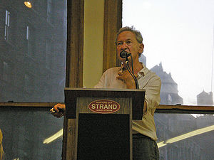 Simon Schama - Schama at New York City's Strand Bookstore in 2006.