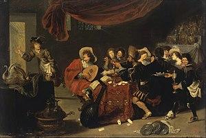 Simon de Vos -  Merry Company, 1631