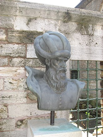 Mimar Sinan - Bust of Mimar Sinan in Istanbul