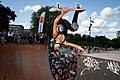 Skateboarder Lizzie Armanto in action - Denmark 2015.jpg