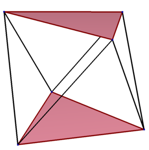 Skew polygon