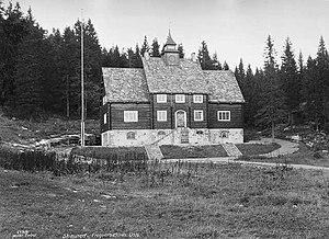 Holmenkollen Ski Museum - Original Ski Museum building in 1925, then located in the Frognerseteren neighbourhood