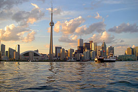 Skyline of Toronto viewed from Harbour.jpg