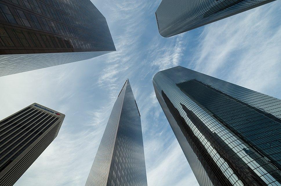 Skyscraper Los Angeles Downtown 2013