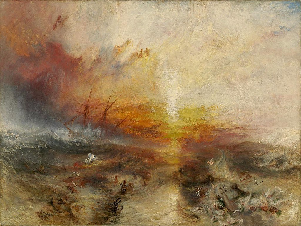 """The Slave Ship"" by J. M. W. Turner"