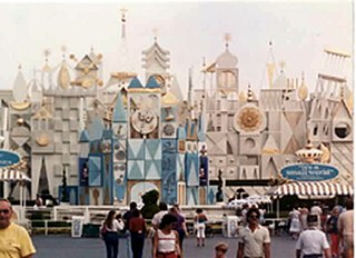 Its a Small World Dark ride at Disney theme parks