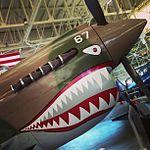 Smile! -aviation -avgeeks -p40 -fly -pilot -fighter -flyingtiger -warhawk -hawaii -museum (9020789570).jpg