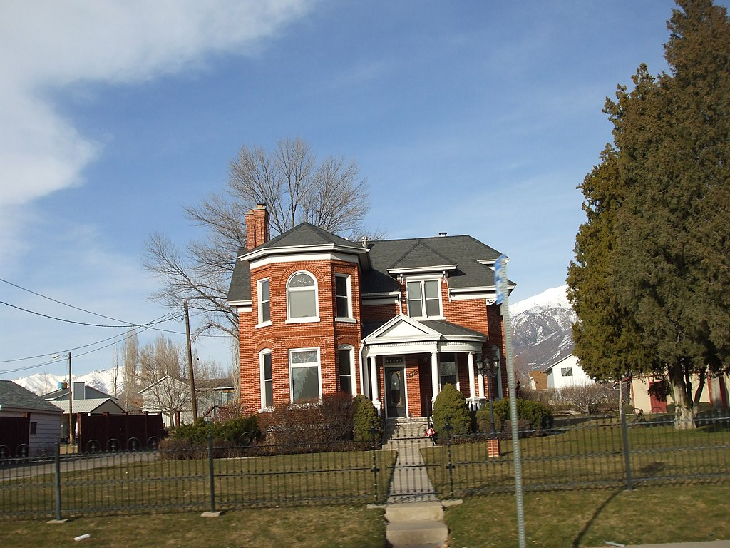 File smith house kaysville wikimedia commons Building a house in utah