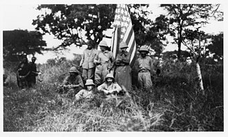 Smithsonian–Roosevelt African Expedition - Participants in the expedition. Smithsonian Institution Archives