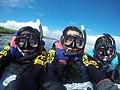 Snorkle gear three people 2017.jpg