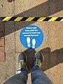Socially distanced queuing sign.jpg