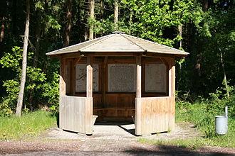 Hildesheim Diocesan Feud - Information board near the battlefield site in Soltau-Wiedingen