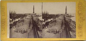 Port of Naples - The port between 1834 - 1914