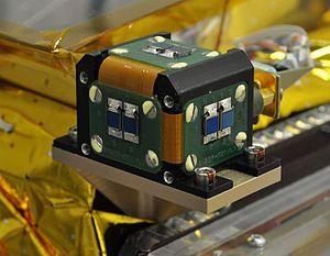 Sun sensor - Non-linear sun sensor used by the TET-1 German microsatellite.