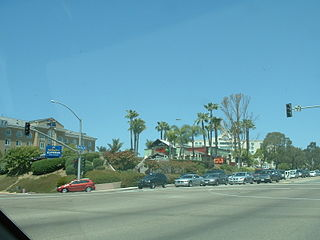 El Camino Memorial Park cemetery in San Diego, California, USA