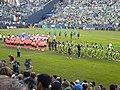 SoundersFC Barcelona January 2010 teams lineup 2.JPG