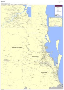 Map Of Texas Qld.Lists Of Schools In Queensland Wikipedia