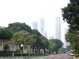 South Beach, Singapore - A view of South Beach and Beach Road, Singapore.