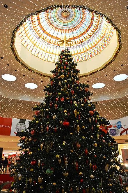 south coast plaza christmas tree