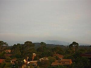 2008–09 Australian bushfire season - The southern Dandenong Ranges bushfires, 23 February 2009.