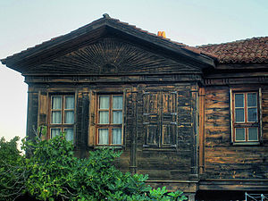 Sozopol - Traditional wooden architecture dominates the Old Town