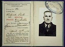 Warrant card - Wikipedia