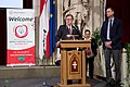 Special Olympics World Winter Games 2017 reception Vienna - speech Paul Jankowitsch 01.jpg