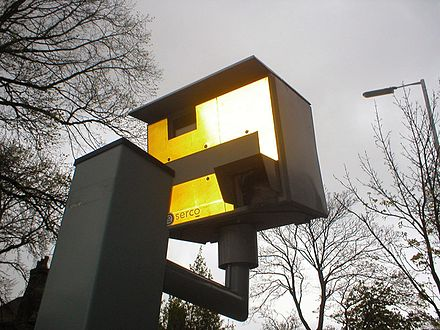 Gatso Serco speed camera