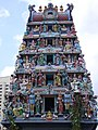 Sri Mariammam temple (gopuram detail). (4620130507).jpg