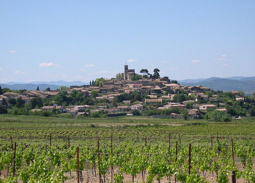 Saint-Pons-de-Mauchiens (Hérault) - vue générale.