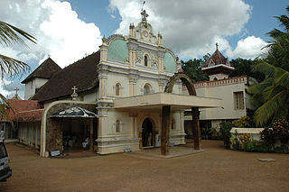 Thumpamon Valiya Pally Church in Kerala, India