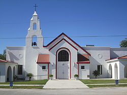 St. Andrew the Apostle Catholic Church, Lytle, TX IMG 0740.JPG