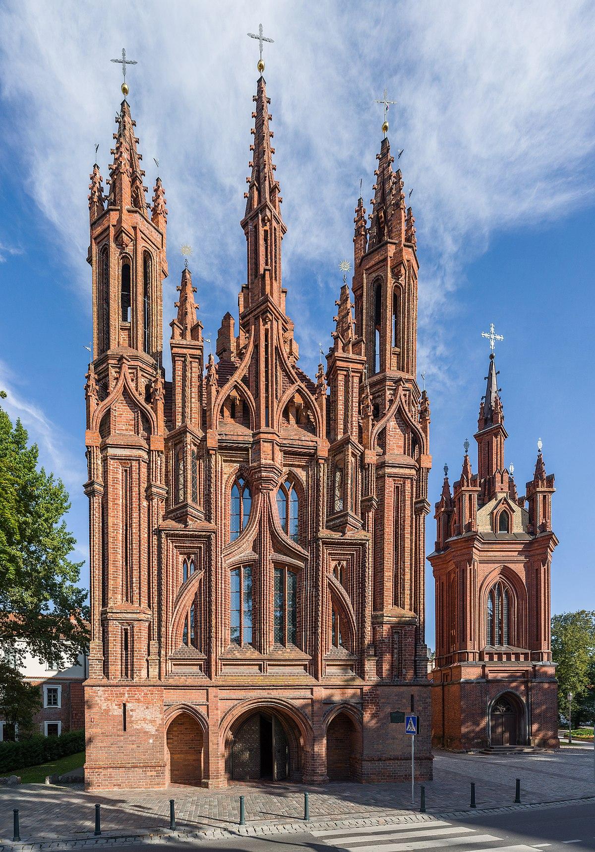 Church Of St Anne Vilnius