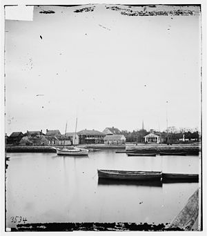 St. Augustine, Florida waterfront, 1860's