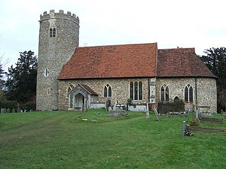 Pentlow - Image: St. Georges Pentlow, Essex geograph.org.uk 1120054