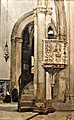St. John's Pulpit at Saint John's Church, Tomar, Portugal(1887) - João Vaz (1859-1931) (44856278802).jpg
