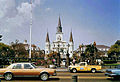 St. Louis Cathedral From Across Decatur 1985.jpg