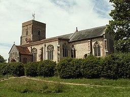 St. Mary's church, Capel St. Mary, Suffolk - geograph.org.uk - 185234.jpg