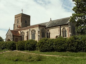 Capel St. Mary - Image: St. Mary's church, Capel St. Mary, Suffolk geograph.org.uk 185234