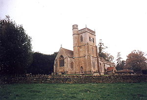 English: St. Michael's, East Coker, Somerset T...