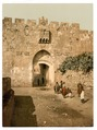 St. Stephen's Gate, Jerusalem, Holy Land-LCCN2002725013.tif