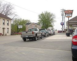 Downtown Saint Donatus, Iowa