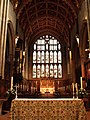 St Johns Church, Croydon, choir stalls and altar - geograph.org.uk - 1106399.jpg