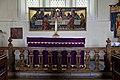 St Mary's Church, Stapleford Tawney, Essex, England ~ altar and reredos.jpg